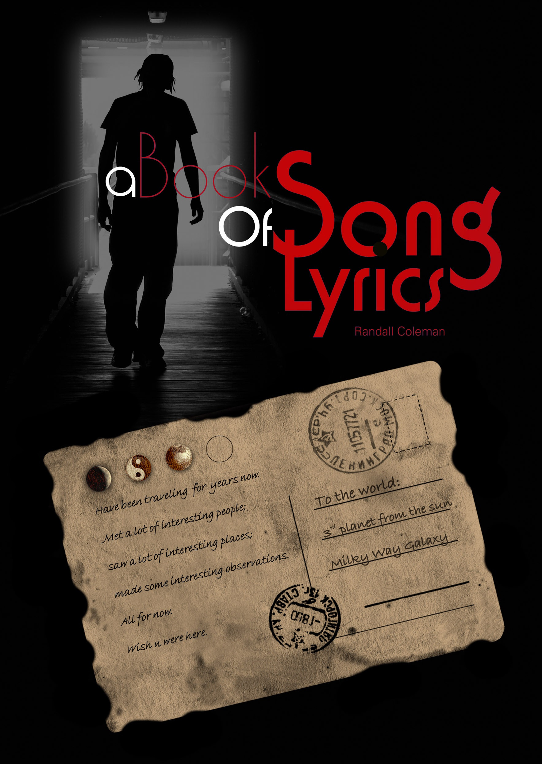 A BOOK OF SONG LYRICS e-Book : The Moon Above by Randall