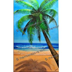Coconut Tree & Beach