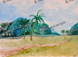 Two Coconut Trees